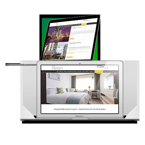 Hospitality Website - Desketing