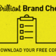 Brilliant Brand Checklist