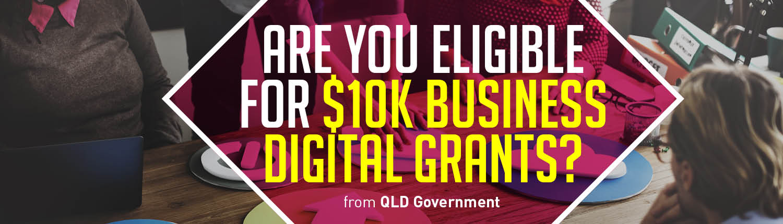 QLD small business digital grant