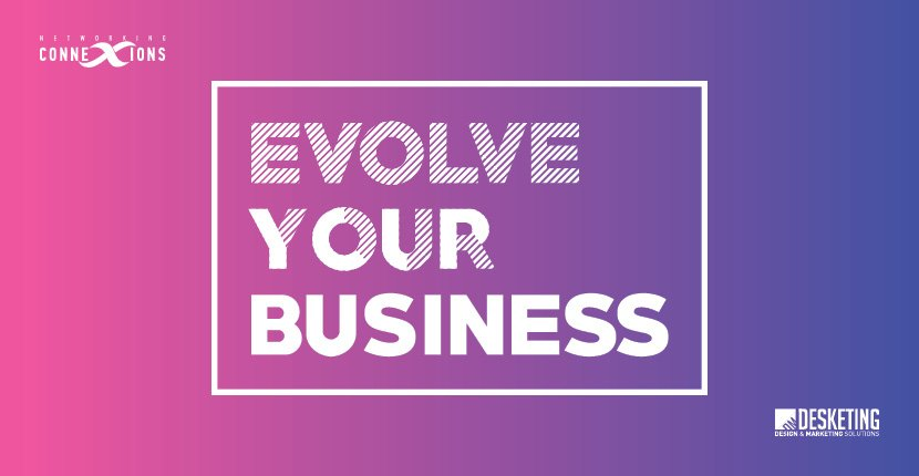 Evolve Your Business Networking Event Banner Mobile