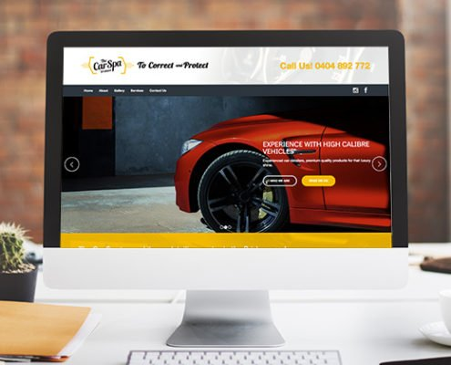 portfolio thecarspa website