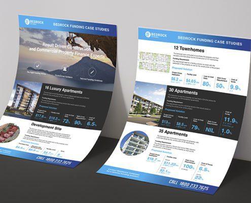 Bedrock Funding Flyer Design