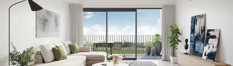 Property Marketing Upper West Arana Hills Living Room